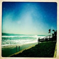 Photo taken at Lantana Beach by HeliA on 10/30/2012