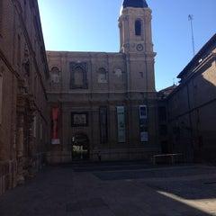 Photo taken at Biblioteca Municipal María Moliner by Lola M. on 4/5/2014