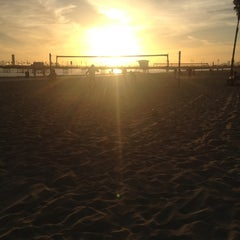 Photo taken at Beach Volleyball by Chris J. on 10/4/2012