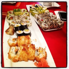 Photo taken at Ocho Sushi - Bar by Karina F. on 1/13/2013