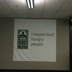 Photo taken at Greater Chicago Food Depository by Jessica S. on 7/18/2015