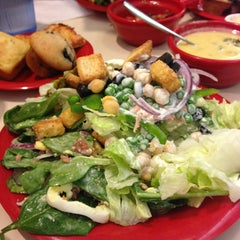 Photo taken at Souplantation by Alfred S. on 2/16/2013