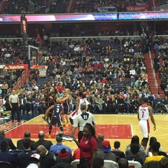 Photo taken at Washington Wizards by Dark Knight on 11/25/2015