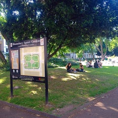 Photo taken at Bloomsbury Square by Geoff H. on 6/13/2014