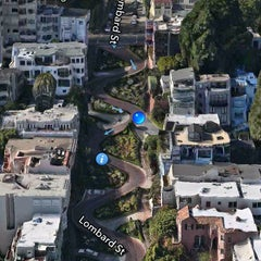 Photo taken at Lombard Street by Michael C. on 7/6/2013