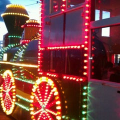 Photo taken at Blackpool Illuminations by Dave H. on 10/13/2012