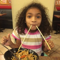 Photo taken at Genghis Grill by Sparkz on 1/12/2015