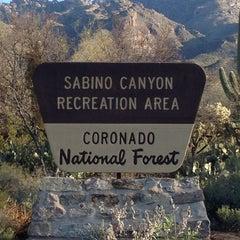 Photo taken at Sabino Canyon Recreation Area by Alan F. on 3/29/2013