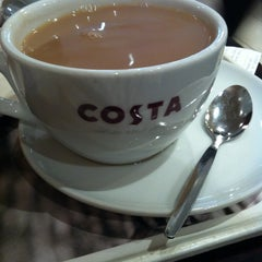 Photo taken at Costa Coffee by Claire B. on 3/15/2013