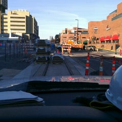 Photo taken at East Bank LRT Station by Jason D. on 11/16/2012