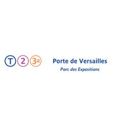 Photo taken at Station Porte de Versailles [T2,T3a] by RATP on 7/9/2013