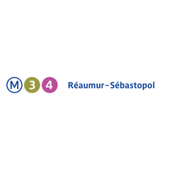 Photo taken at Métro Réaumur—Sébastopol [3,4] by RATP on 7/15/2013