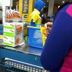 Photo taken at hypermart by Manda K. on 6/25/2014