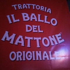 Photo taken at Il Ballo Del Mattone Trattoria Originale by Florencia M. on 11/14/2012