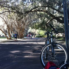 Photo taken at Rock n Roll Savannah Marathon Finish by Stacey S. on 11/3/2012