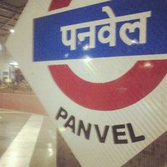 Photo taken at Panvel Railway Station by Nehaa K. on 10/18/2012