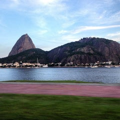 Photo taken at Enseada de Botafogo by Abeel O. on 3/8/2013