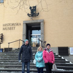 Photo taken at Historiska Museet by Anna T. on 1/9/2013
