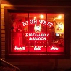 Photo taken at High West Distillery & Saloon by Jane T. on 3/15/2013