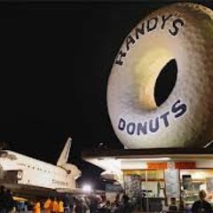 Photo taken at Randy's Donuts by Jeweler on 11/6/2012