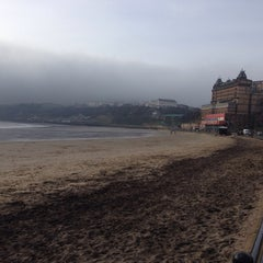 Photo taken at Scarborough by Andy H. on 2/17/2014