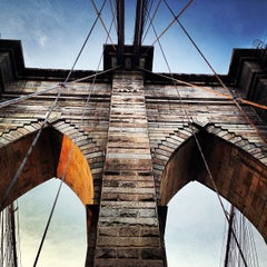 Photo taken at Brooklyn Bridge by Kody . on 6/22/2013