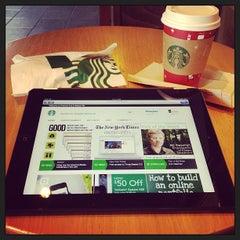 Photo taken at Starbucks by Jason W. on 12/18/2012