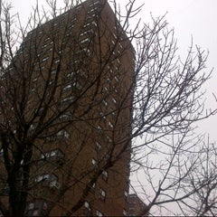 Photo taken at Franklin Plaza Apts by Vicario Brensley P. on 1/29/2013