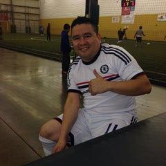 Photo taken at Soccerdome by eddie b. on 11/9/2013