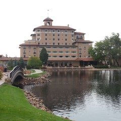 Photo taken at The Broadmoor by Rob U. on 9/24/2012