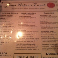Photo taken at James Hoban's Irish Restaurant & Bar by Matthew M. on 12/11/2012