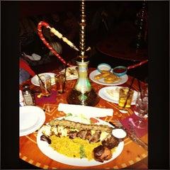 Photo taken at Paymon's Mediterranean Cafe & Hookah Lounge by Giancarlo G. on 1/12/2013