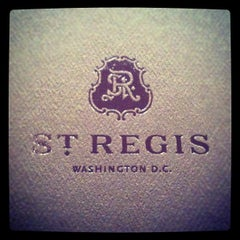 Photo taken at St. Regis Washington D.C. by A P. on 11/16/2012
