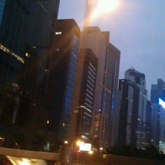 Photo taken at Harbour Centre 海港中心 by Rustem Z. on 12/1/2012