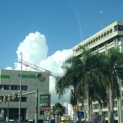 Photo taken at Banco BHD León by Oscar O. on 1/18/2014