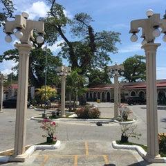 Photo taken at Plaza Del Pilar by har r. on 2/17/2016