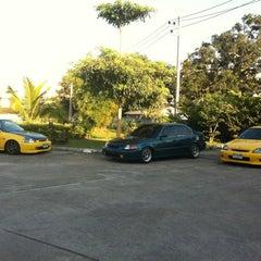 Photo taken at Golden Land Hotel @ Chiang Rai by Pakorn W. on 12/22/2012