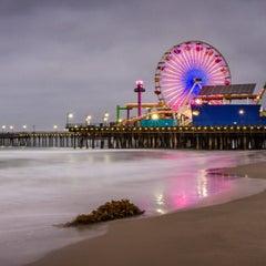 Photo taken at Santa Monica Pier by Ken R. on 7/20/2013