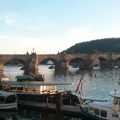 Photo taken at Karlův most   Charles Bridge by Татьяна П. on 7/19/2013