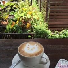 Photo taken at Sweets Café (สวีท คาเฟ่) by Jithathai J T. on 4/6/2015