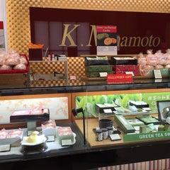 Photo taken at Minamoto Kitchoan by Matthew K. on 10/16/2015