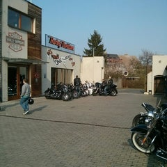 Photo taken at Harley Davidson Šalamounka Club by Danny B. on 3/29/2014
