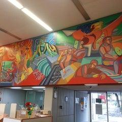 Photo taken at Biblioteca De Posgrado Enzo Levi by Christopher K. on 8/21/2013