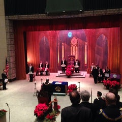 Photo taken at DC Scottish Rite Temple - Valley of Washington, Orient of the District of Columbia by Scott B. on 12/14/2013