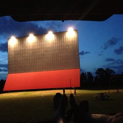 Photo taken at Showboat Drive-In by Jessyca on 6/20/2013