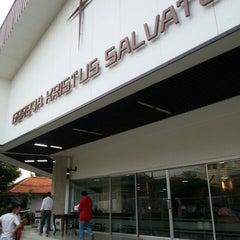 Photo taken at Gereja Kristus Salvator by Lilian B. on 10/5/2013