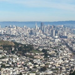 Photo taken at Twin Peaks Summit by Alipio J. on 12/8/2012