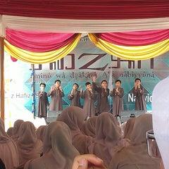 Photo taken at SMAN 2 Tangerang Selatan by Raynata G. on 2/19/2014