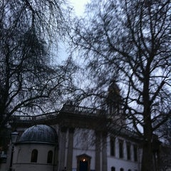 Photo taken at St Marylebone Parish Church Gardens by Julia A. on 1/18/2013