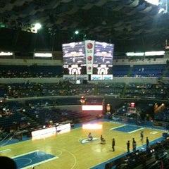 Photo taken at SMART Araneta Coliseum by shaimarie s. on 4/27/2013